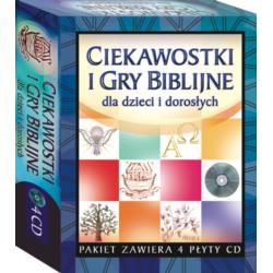 CIEKAWOSTKI I GRY BIBILIJNE 4xCD - 0041