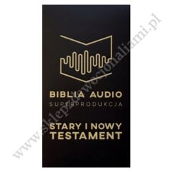 BIBLIA AUDIO - STARY I NOWY TESTAMENT - PENDRIVE MP3