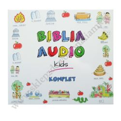 BIBLIA AUDIO KIDS - KOMPLET 3 CD - 84429